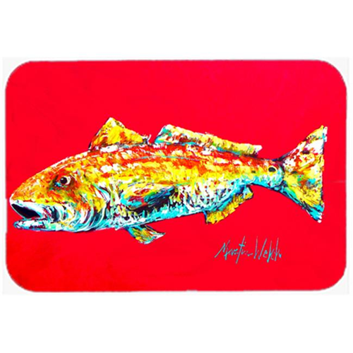 Carolines Treasures MW1084MP Fish - Red Fish Alphonzo Mouse Pad Hot Pad or Trivet
