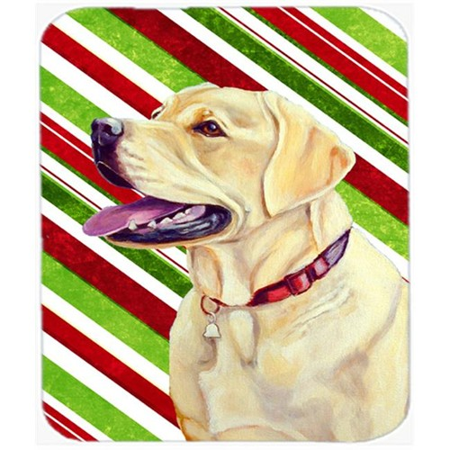 Carolines Treasures LH9248MP Labrador Candy Cane Holiday Christmas Mouse Pad Hot Pad Or Trivet