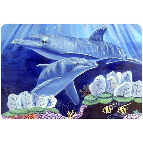 Carolines Treasures 7080MP Dolphin Under The Sea Mouse Pad Hot Pad Or Trivet