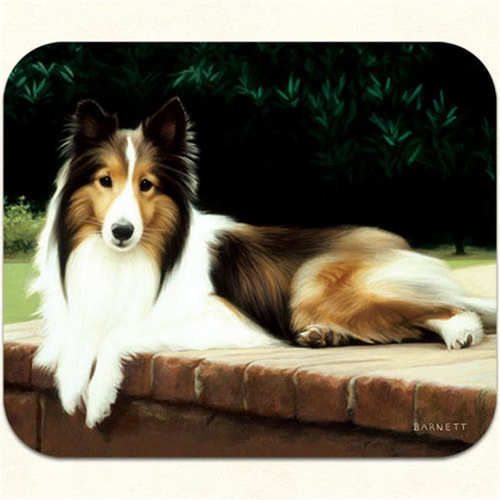 Fiddlers Elbow m19 Sheltie Porch Mouse Pad Pack Of 2