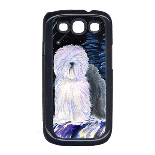 Carolines Treasures SS8406GALAXYSIII Starry Night Old English Sheepdog Cell Phone Cover Galaxy S111