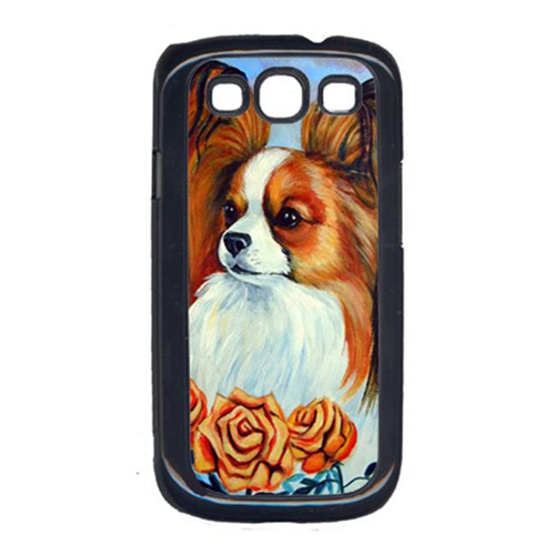 Carolines Treasures 7039GALAXYSIII Papillon In The Roses Cell Phone Cover Galaxy S111