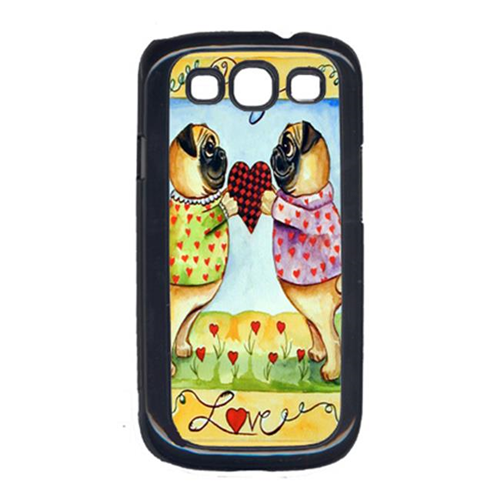 Carolines Treasures 7046GALAXYSIII Pug Love Pug Cell Phone Cover Galaxy S111