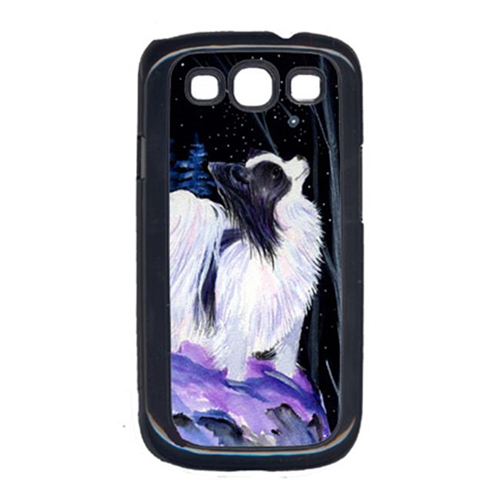 Carolines Treasures SS8383GALAXYSIII Starry Night Papillon Cell Phone Cover Galaxy S111