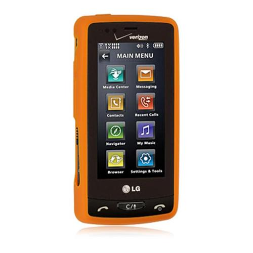 DreamWireless SCLG9600OR-PR LG Versa & VX-9600 Premium Skin Case - Orange