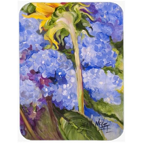 Carolines Treasures JMK1174MP Hydrangea And Sunflower Mouse Pad Hot Pad & Trivet