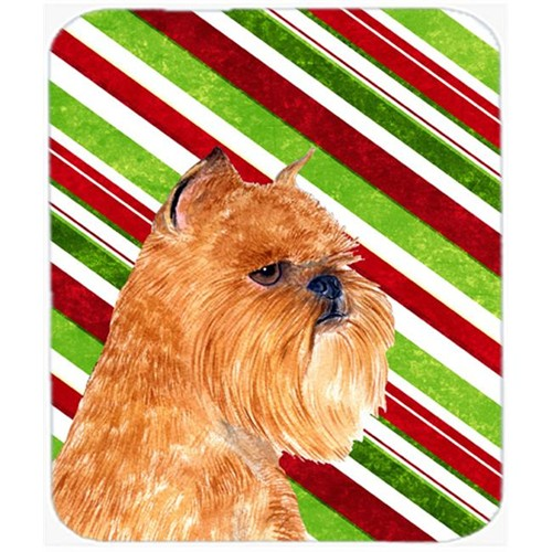Carolines Treasures SS4563MP Brussels Griffon Candy Cane Holiday Christmas Mouse Pad Hot Pad Or Trivet
