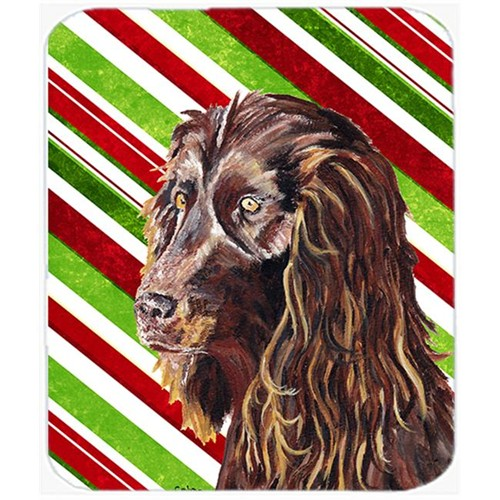 Carolines Treasures SC9616MP Boykin Spaniel Candy Cane Christmas Mouse Pad Hot Pad Or Trivet