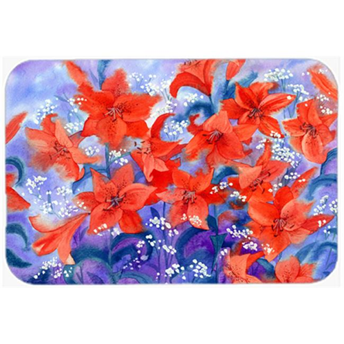 Carolines Treasures IBD0257MP Lillies Mouse Pad Hot Pad or Trivet