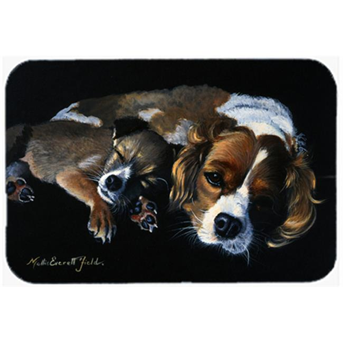 Carolines Treasures FMF0022MP Cozy Pals with Cavalier Spaniel Mouse Pad Hot Pad or Trivet