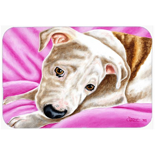 Carolines Treasures AMB1413MP Dream Girl Pit Bull Mouse Pad Hot Pad or Trivet