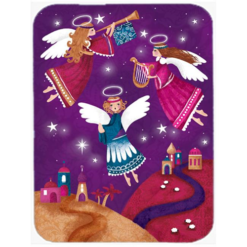 Carolines Treasures APH7082MP Christmas Angels in Purple Mouse Pad Hot Pad or Trivet