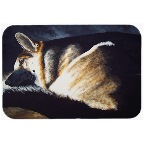 Carolines Treasures AMB1042MP Day Dreamer German Shepherd Mouse Pad Hot Pad or Trivet
