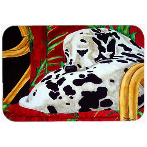 Carolines Treasures AMB1118MP Sunday Nap Dalmatian Mouse Pad Hot Pad or Trivet