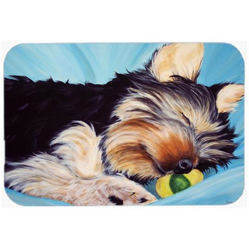 Carolines Treasures AMB1075MP Naptime Yorkie Yorkshire Terrier Mouse Pad Hot Pad or Trivet