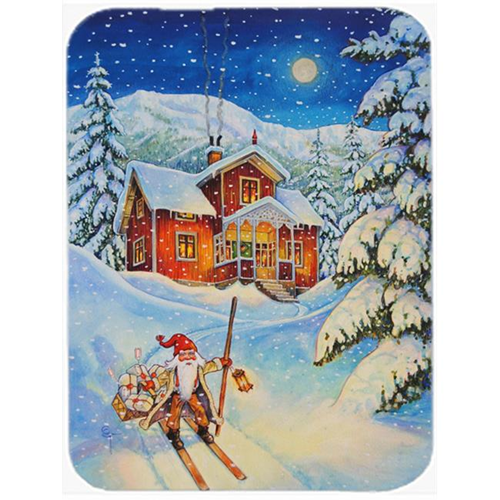 Carolines Treasures ACG0147MP Christmas Gnome Headed Out Mouse Pad Hot Pad or Trivet