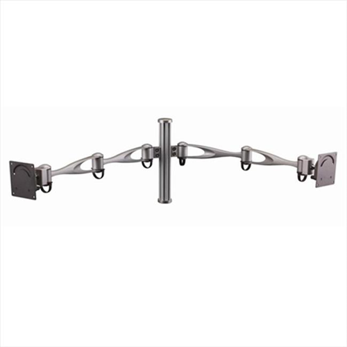 Cotytech MW-D1A2 Wall Mount For Two Monitors Vertical Double Arm