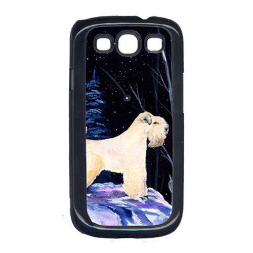 Carolines Treasures SS8386GALAXYSIII Starry Night Wheaten Terrier Soft Coated Galaxy S111 Cell Phone Cover