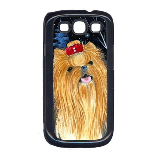 Carolines Treasures SS8413GALAXYSIII Starry Night Yorkie Galaxy S111 Cell Phone Cover