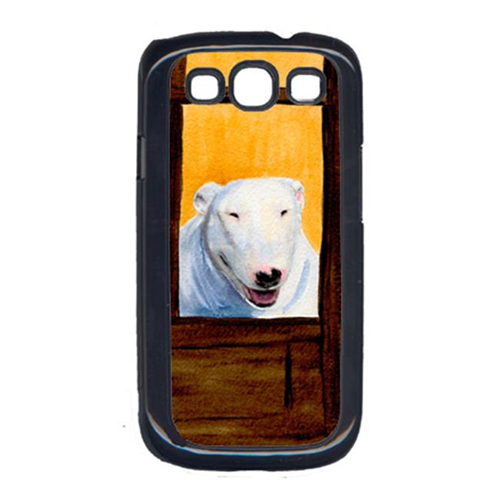 Carolines Treasures SS8542GALAXYSIII Bull Terrier Cell Phone Cover For Galaxy S111