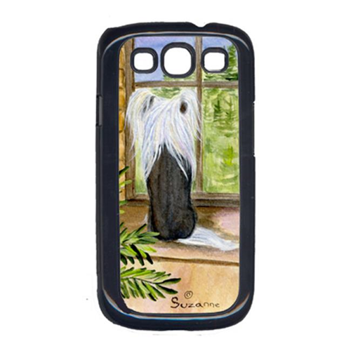 Carolines Treasures SS8121GALAXYSIII Chinese Crested Cell Phone Cover For Galaxy S111