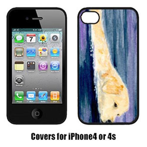 Carolines Treasures SS8814IP4 Golden Retriever Cell Phone Cover Iphone4