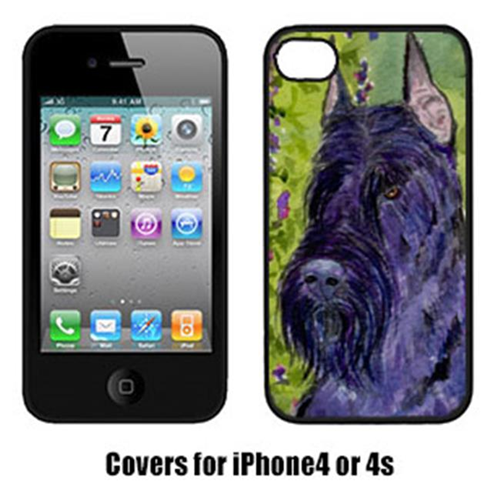 Carolines Treasures SS1018IP4 Scottish Terrier Cell Phone Cover Iphone4