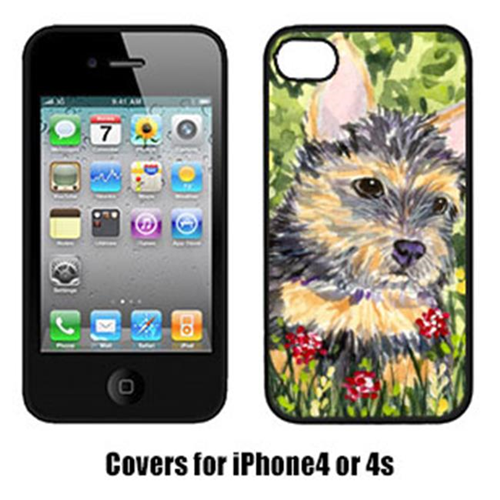 Carolines Treasures SS8893IP4 Norwich Terrier Cell Phone Cover Iphone4