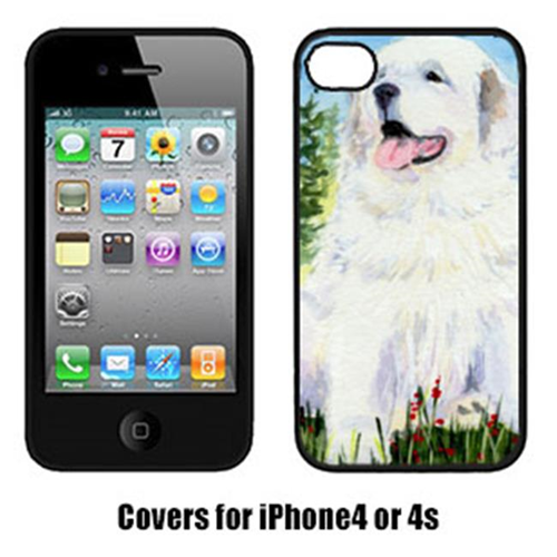 Carolines Treasures SS8866IP4 Great Pyrenees Cell Phone Cover Iphone4