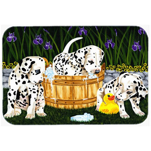 Carolines Treasures AMB1320MP Pass the Soap Dalmatian Mouse Pad Hot Pad or Trivet