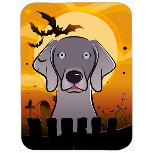 Carolines Treasures BB1789MP Halloween Weimaraner Mouse Pad Hot Pad & Trivet
