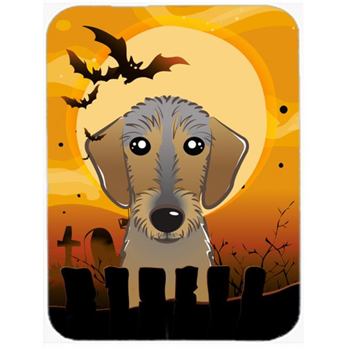 Carolines Treasures BB1791MP Halloween Wirehaired Dachshund Mouse Pad Hot Pad & Trivet