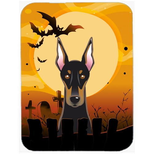 Carolines Treasures BB1803MP Halloween Doberman Mouse Pad Hot Pad & Trivet