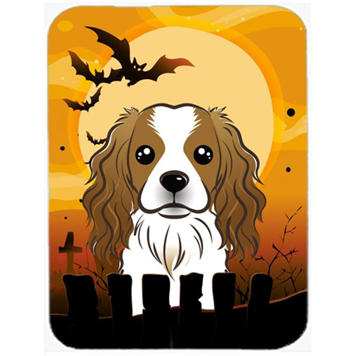 Carolines Treasures BB1782MP Halloween Cavalier Spaniel Mouse Pad Hot Pad & Trivet
