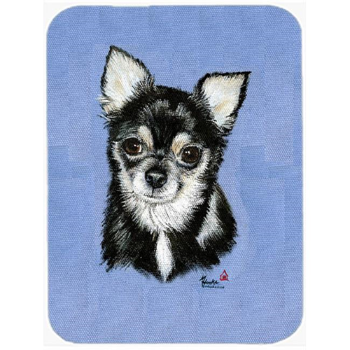 Carolines Treasures MH1016MP Chihuahua In Blue Mouse Pad Hot Pad & Trivet