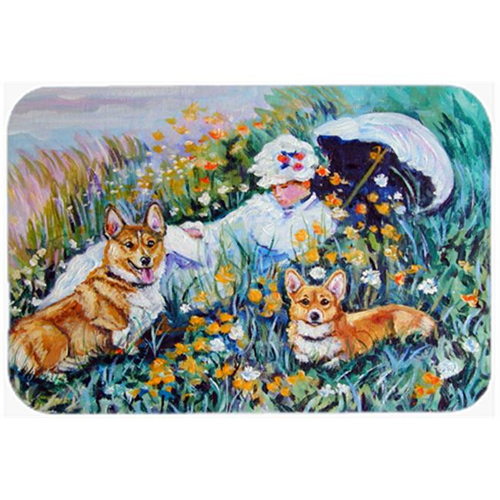 Carolines Treasures 7324MP Corgi Classics Mouse Pad Hot Pad & Trivet