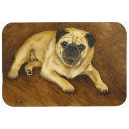 Carolines Treasures MH1062MP Fawn Pug Roscoe Mouse Pad Hot Pad & Trivet