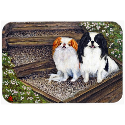 Carolines Treasures MH1047MP Japanese Chin Daddys Girls Mouse Pad Hot Pad & Trivet