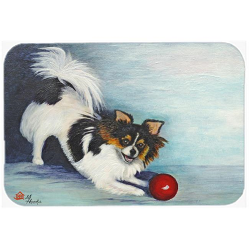 Carolines Treasures MH1054MP Chihuahua Play Ball Mouse Pad Hot Pad & Trivet