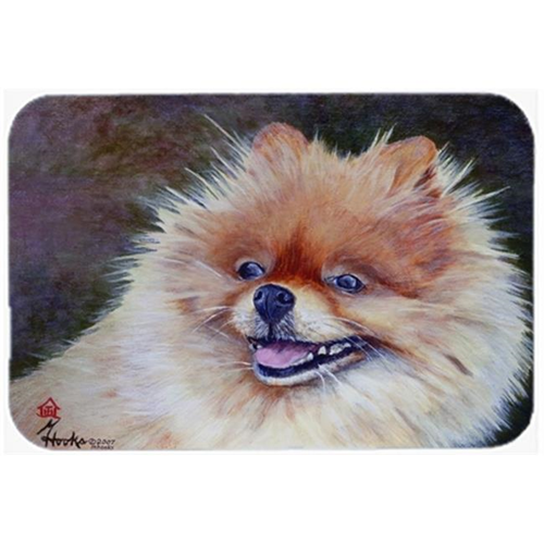 Carolines Treasures MH1056MP Pomeranian Head Mouse Pad Hot Pad & Trivet