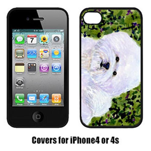 Carolines Treasures SS8817IP4 Bichon Frise Cell Phone Cover Iphone4