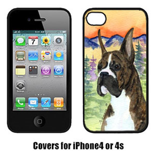 Carolines Treasures SS8199IP4 Boxer Cell Phone Cover Iphone4