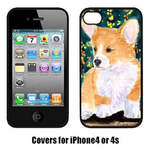 Carolines Treasures SS8967IP4 Corgi Cell Phone Cover Iphone4