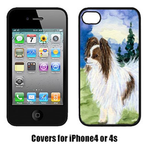 Carolines Treasures SS8975IP4 Papillon Cell Phone Cover Iphone4