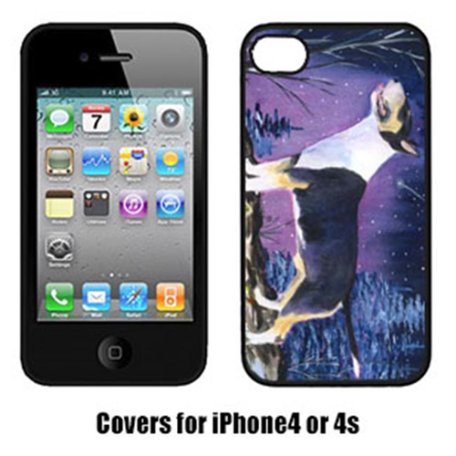Carolines Treasures SS8344IP4 Bull Terrier Cell Phone cover IPhone 4