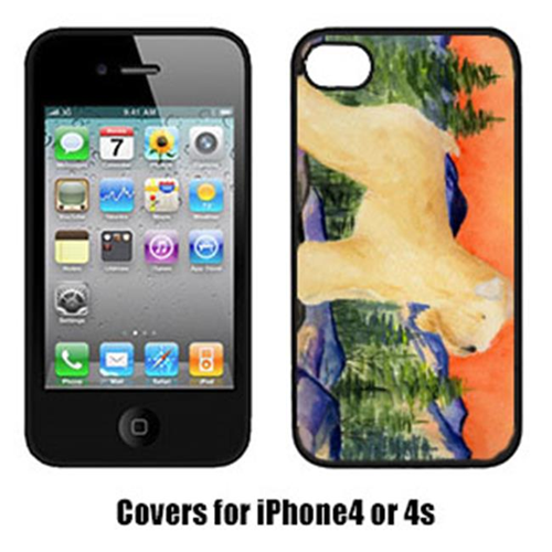 Carolines Treasures SS8182IP4 Wheaten Terrier Soft Coated Cell Phone cover IPhone 4