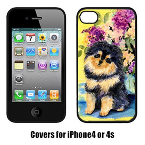 Carolines Treasures SS8290IP4 Pomeranian Cell Phone cover IPhone 4