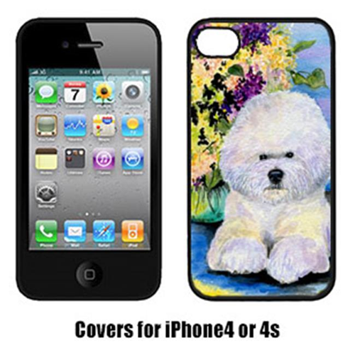 Carolines Treasures SS8295IP4 Bichon Frise Cell Phone cover IPhone 4