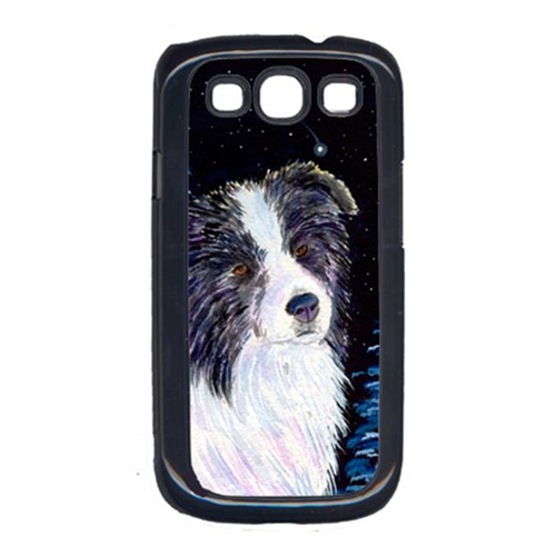 Carolines Treasures SS8558GALAXYSIII Starry Night Border Collie Cell Phone Cover Galaxy S111