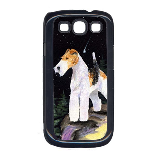 Carolines Treasures SS8503GALAXYSIII Starry Night Fox Terrier Galaxy S111 Cell Phone Cover